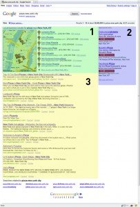 Google Map Sections